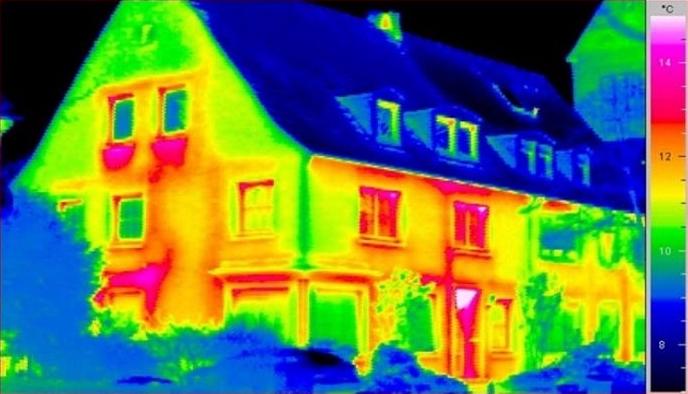 Обследование зданий тепловизором в Могилеве